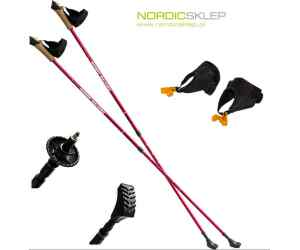 NW607 RED KIJE NORDIC WALKING NILS EXTREME
