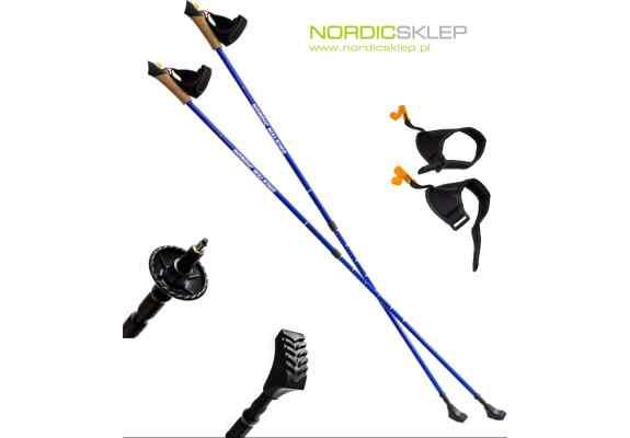 NW607 BLUE KIJE NORDIC WALKING NILS EXTREME