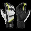 Rękawice LEKI Griffin Prime S white-black-yellow