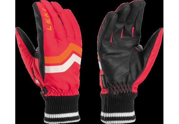 Rękawice narciarskie Leki Osmium S red