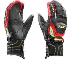 Rękawice narciarskie LEKI WCR Flex S Junior Lobster red 8.0