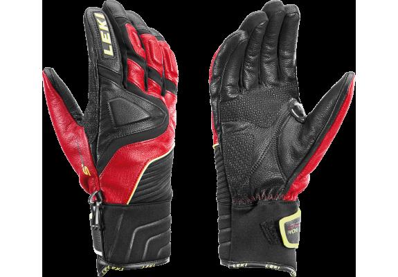 Skórzane rękawice narciarskie LEKI Race Slide S 9.0.
