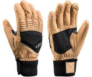 Rękawice LEKI eleMents Copper S tan-black 7.0