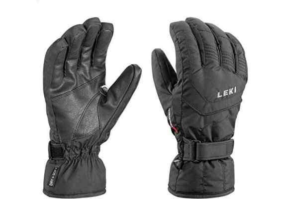 Rękawice na narty Leki Scout S Black 9.0