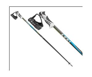 Kije narciarskie Leki Carbon 14 S Blue - 115cm i 110cm