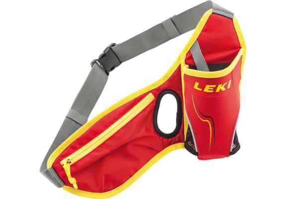Pas na bidon LEKI Waistbag red