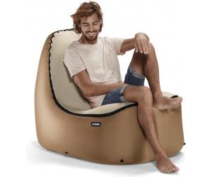 Trono pompowane krzesło Bronze