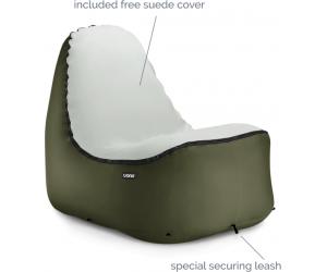 Trono pompowane krzesło Green