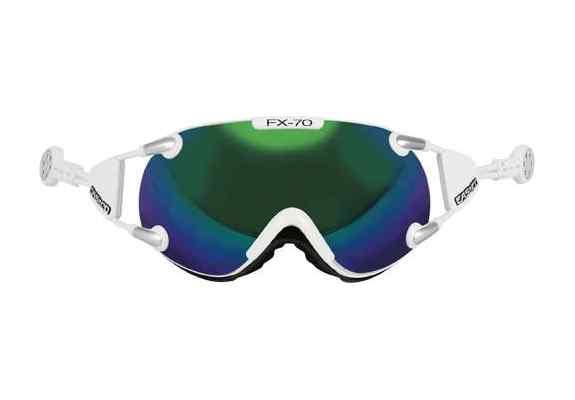 Gogle narciarskie Casco FX-70 C BLACK GREEN M