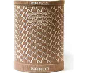 Ciepły komin / maska Naroo E9 brown-beige