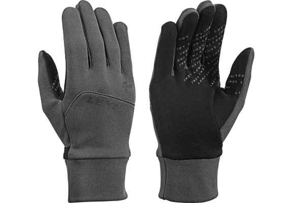 Rękawice LEKI Urban mf touch grey-black