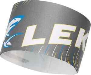 Opaska LEKI Race Shark Headband grey S/M