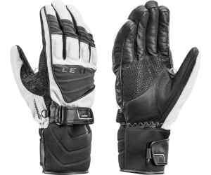 Wygodne rękawice narciarskie Leki Griffin S white 8.5