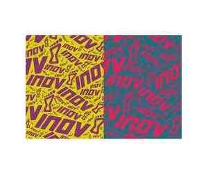 chusty inov-8 wrag 30 fioletowo-żółta i różowo-morska.