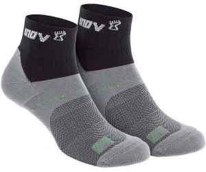 Skarpety inov-8 All Terrain Sock Mid. Dwupak. Czarno-szare..
