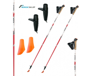 Kije nordic walking Gabel X-5 85% Cabonu