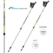 Kije nordic walking Gabel VARIO S 9.6 LIME