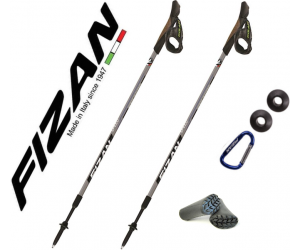 Kije nordic walking Fizan Speed Black