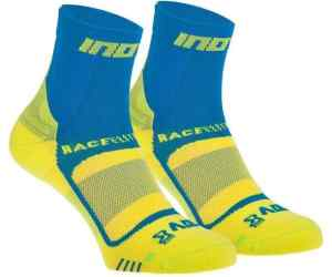 Skarpety inov-8 Race Elite Pro Sock. Niebiesko-żółte. Dwupak.