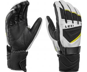 Rękawice Leki Griffin S white/neon