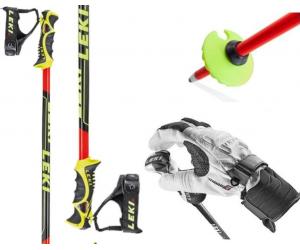 Kije narciarskie LEKI WCR SL120 cm