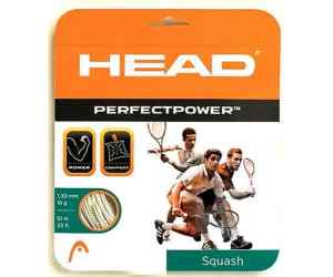 Naciąg squash Head Perfect Power 1,20 mm Biały