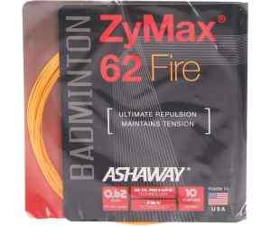 Naciąg badminton Ashaway ZyMax 62 FIRE Pomarańczowy Set 10m