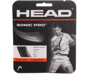 Naciąg tenis Head Sonic PRO Biały 16g 1,25 mm 12m