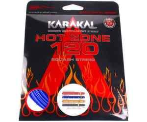 Naciąg squash Karakal Hot Zone 120 Niebieski 10m