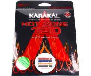 Naciąg squash Karakal Hot Zone 120 Zielony 10m