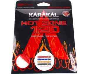Naciąg squash Karakal Hot Zone 120 Czerwony 10m