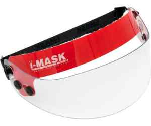 Okulary ochronne i-Mask FIRE ENGINE RED