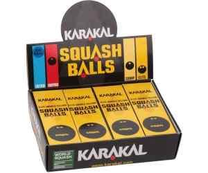 Piłki Karakal Elite Double Yellow Dot Squash Balls X12 - pudełko 12 szt.