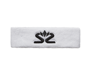 Frotka na głowę Salming Knitted Headband White/Black