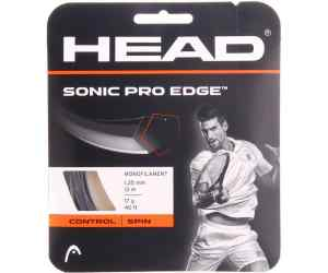 Naciąg tenis Head Sonic PRO Edge Antracytowy 17g 1,25 mm 12m