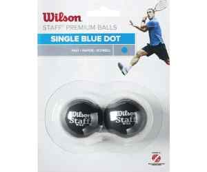 Piłki Wilson Single Blue Dot 2szt.