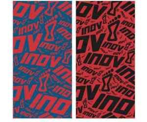 Chusty inov-8 Wrag. Niebiesko-czerwona i czerwono-czarna.
