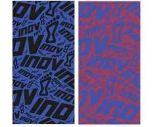 Chusty inov-8 Wrag. Niebiesko-czarna i różowo-niebieska.
