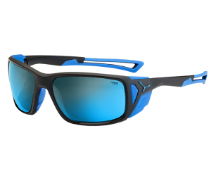 Okulary przeciwsłoneczne CEBE PROGUIDE MATT BLACK BLUE Peak Grey CAT.4 Blue AR