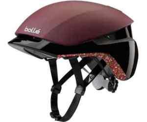 Kask rowerowy Bolle Messenger Premium Burgandy