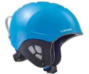 Cébé Juniorski kask narciarski Pluma Junior Shiny Neon Blue