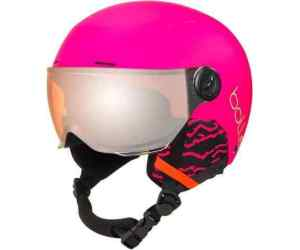 Bolle Juniorski Kask Narciarski QUIZ VISOR Matte Hot Pink 1 Orange Gun Visor Cat.2
